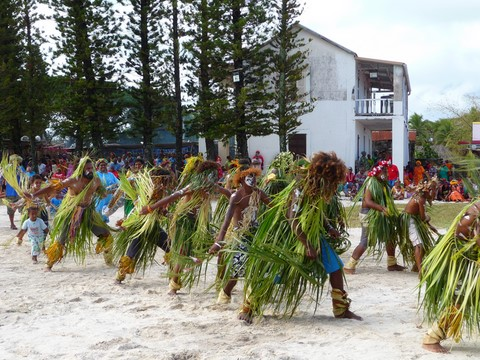 danse traditionnelle à ouvea